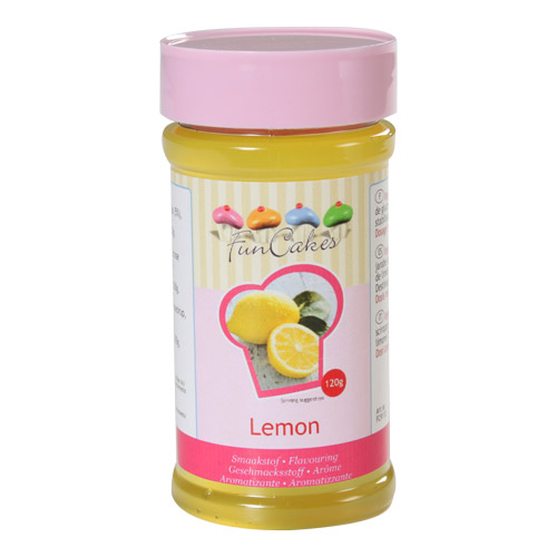 Aroma en pasta de limon