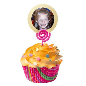 """Wilton Cupcake """"Añade una foto"""" 12 un."""
