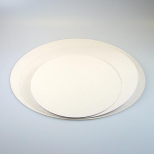 Base de Cartón Impermeable por 5, redondo 26 cm.