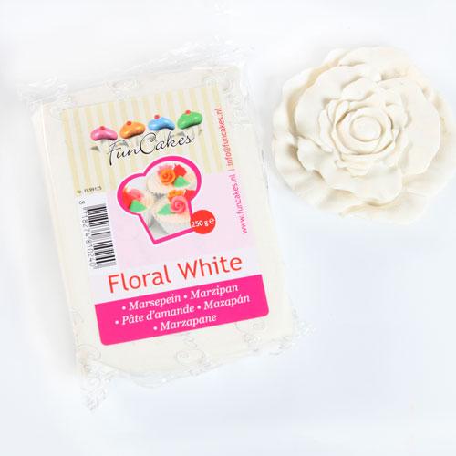 FunCakes Mazapán Blanco Flor - 250g