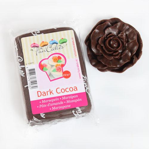 FunCakes Mazapán Chocolate Negro -250g
