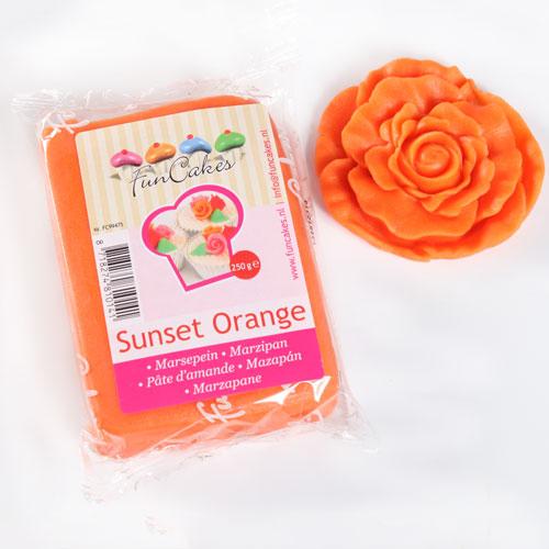 FunCakes Mazapán Naranja Atardecer - 250g